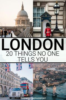 Traveling to London for the first time (or Then check out this London travel guide that is filled with expert London travel tips for first-time visitors. You'll also find 20 of the most common mistakes that newbie visitors make and find out London Travel Guide, London Guide, Europe Travel Tips, European Travel, Travel Guides, Places To Travel, Travel Destinations, Travel Hacks, Backpacking Europe
