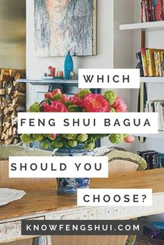 Feng shui can be very confusing, I know. One of the first points of confusion in applying feng shui is the question of bagua, or the feng shui energy map.