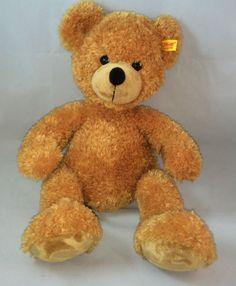 Steiff-Fynn-Teddy-Bear-Doll-111709-Ear-Button-16-Made-in-Germany-Honey-Brown