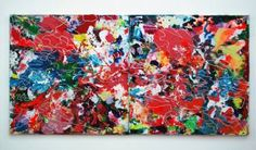 "Saatchi Art Artist Yuki Itoda; Painting, ""Volcano Love"" #art"