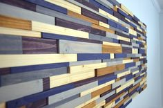 Wooden wall art A STRAIGHT ARROW wooden wall by StainsAndGrains