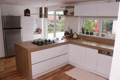 Kuchyně Küchen Design, House Design, Küchen In U Form, Kitchen Room Design, Flat Ideas, Design Moderne, Cuisines Design, Home Interior Design, Living Spaces