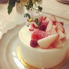27歳の自分へのバースデーケーキ