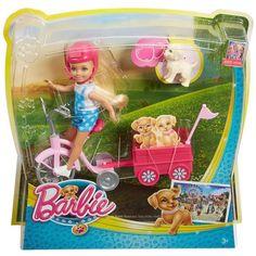 Designer Clothes, Shoes & Bags for Women Barbie Playsets, Barbie Toys, Little Pet Shop Toys, Little Pets, Doll Crafts, Diy Doll, Barbie Club, Barbie Puppy, Barbie Chelsea Doll