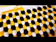 Pistachio Honeycomb Fiber / Blanket Making - Stricken Crochet Stitches Patterns, Crochet Chart, Crochet Designs, Crochet Baby, Stitch Patterns, Knit Crochet, Crochet Crocodile Stitch, Crochet Videos, Loom Knitting