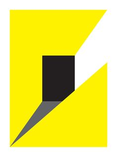2012.Untitled Yellow #2 by Graphic Nothing, via Flickr