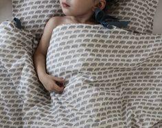 ORGANIC Toddler Bedding set - Sheepy Sheep Sheep