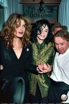 MJ with Brooke Shields