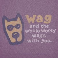 Wag & the Whole World Wags With You. #Wag #Dogs