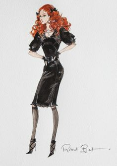 Robert Best Official PFDF Fiorella Barbie Sketch