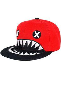 #Romwomen               Devil Pattern Flat Hat