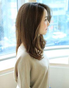 憧れおでこ見せ大人スタイル(SY-447)   ヘアカタログ・髪型・ヘアスタイル AFLOAT(アフロート)表参道・銀座・名古屋の美容室・美容院