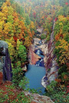 Tallulah Gorge, Georgia ~ Blogger Pixz