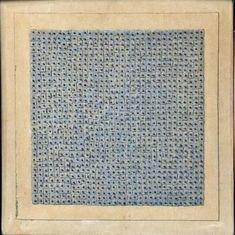 Agnes Martin 'Blue Flower' 1962
