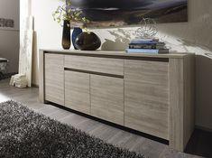 Modern Italian Sideboard Elba by LC Mobili Dining Room Sideboard, Sideboard Furniture, Home Decor Furniture, Home Decor Bedroom, Living Room Decor, Furniture Design, Sideboard Buffet, Sideboard Modern, Modern Buffet