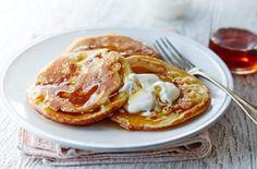 Banana buttermilk pancakes. | Tesco