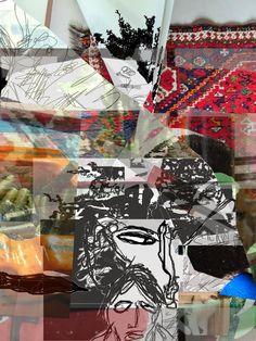 Floortje's blog: Collage van alles wat en tekenen.