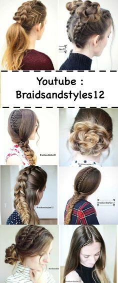 DIY Braid and Hair Tutorials by Braidsandstyles12. Tutorials : https://www.youtube.com/channel/UC8ouEGIBm1GNFabA_eoFbOQ
