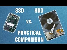 SSD vs. HDD - practical comparison - YouTube