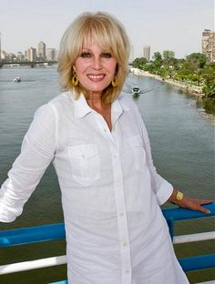 Joanna Lumley during her tv show journey on he Nile (2012).