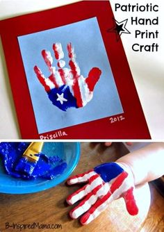 Fourth of July craft.