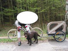 Vozík pro psa Croozer dog, vozík použit