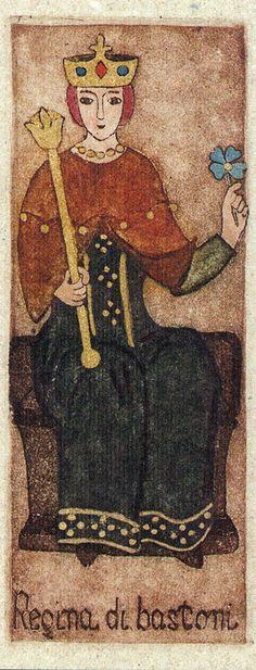 Queen of Wands - La Corte dei Tarocchi
