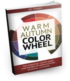 Warm Autumn Color Wheel Style Guide