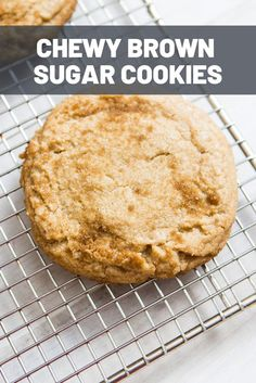 Chewy and warm, with a crackly brown sugar crust, these sugar cookies take less than 30 minutes, start to finish. Brown Sugar Cookie Recipe, Brown Sugar Cookies, Sugar Cookies Recipe, Yummy Cookies, Cookie Desserts, Cookie Recipes, Dessert Recipes, Bar Recipes, Cookie Bars