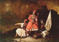 Exotic Art, Greek, War, Google, Painting, Art Production, Painting Art, Paintings, Painted Canvas