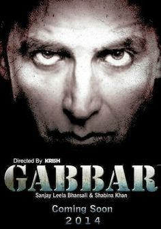"""Upcoming Action Dramma Movie Gabbar is Directed by """"Krish"""" and Produced by """"Sanjay Leela Bansali and shabina Khan. In this Film You can see the different look of Akshay Kumar. he movie is an official remake of a Tamil director A R Murugadoss""""Ramana"""". Once again you can see the Kareena Kapoor in Item no song.  In this Movie lead role is Playing By Akshay Kumar, Shraddha Kapoor, Prakash Raj, Sonu Sood, Nikitin Dheer and Govid Namdev."""