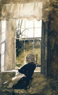 Andrew Wyeth - Anna Kuerner Seated by the Window