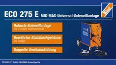 Schweißgerät ECO 275 E - eine kurze Übersicht der Produkteigenschaften