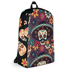 Day of the Dead backpack: Amazon.co.uk: Shoes & Bags