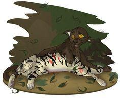 Death by Tree by on DeviantArt This scene broke my heart in the book. And I'm a 39 year old woman! Warrior Cats Funny, Warrior Cats Fan Art, Warrior Cat Drawings, Warrior Drawing, Love Warriors, Feral Cats, Mythical Creatures, Kittens Cutest, Cat Art