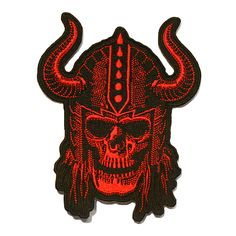 "Orcus Brand ""Red Viking"" Patch @orcusbrand #Viking #Patch"