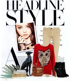 """""""Headline Style"""" by susi312 ❤ liked on Polyvore"""