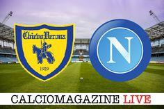 Chievo-Napoli LIVE domenica19 Febbraio dalle ore 15