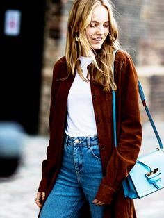 Suede Jacket Inspiration to Carry You Through Fall