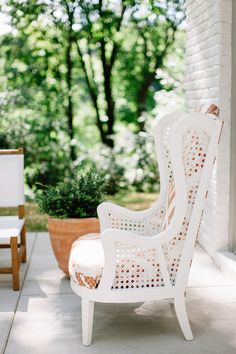 Outdoor furniture: http://www.stylemepretty.com/living/2015/08/28/nashville-home-tour/ | Photography: Leslee Mitchell - http://lesleemitchell.com/