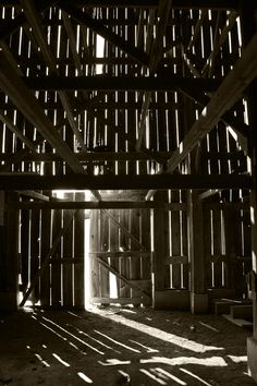 so remember the experience of being in the barn or the tool shed ... and seeing shafts of light filtering through and dust particles dancing in the rays and wondering ... pondering....how come you can't see them always....