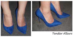 Charlotte Russe Cobalt Blue Stilleto Heels