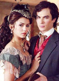 Damon and Katherine....