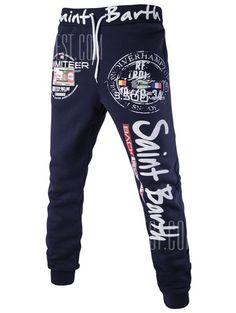 4a7565346c3f4b Hot Sale Slimming Beam Feet Letters and Logo Print Lace-Up Sweatpants For  Men. Kairi · Jogginghosen