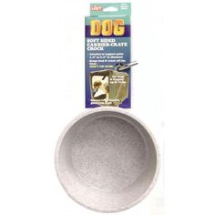 Lixit Corporation DLX0794 Soft Crate Granite Crock Dog Dish, 20-Ounce >>> Remarkable product available now. : Dog crates
