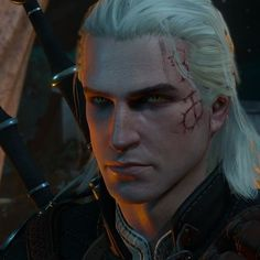"Reposting Oh, Geralt, you handsome devil, you! 😍 ""Young Geralt Mod Gives Me Complicated Witcher Feelings The Witcher Books, The Witcher Game, The Witcher Wild Hunt, The Witcher Geralt, Witcher Art, Ciri, Rose Quartz Steven, Fantasy Warrior, Medieval Fantasy"
