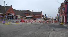 Hazebrouck: les travaux du pôle gare perturbent la circulation - Hazebrouck - L'indicateur des Flandres 11 02 2015