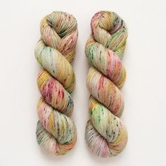 Hand Dyed Yarn Gilding Green Fingering Weight Sock by DruzyRising
