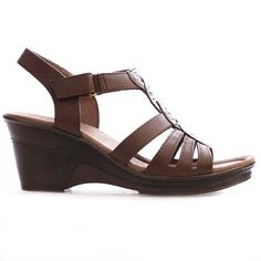 Naturalizer RIDDICK E1480S1200 Brown ** Find out more details by clicking the image - Naturalizer sandals