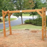 Monkey Bars We Could Make Ourselves Backyard